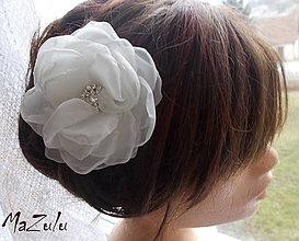 Ozdoby do vlasov - svadobný kvet \