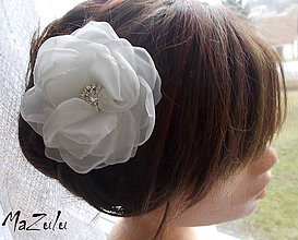 Ozdoby do vlasov - svadobný kvet