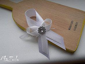 Pierka - ivory svadobné pierko - 6492743_