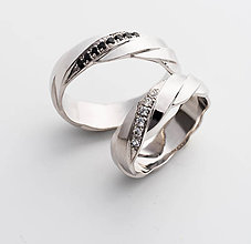 Prstene - Ručne vypracované prstene Asterope - 6494834_