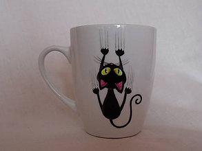 Nádoby - Hrnček - Funny Cat - 6494138_