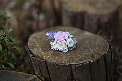 """Ozdoby do vlasov - Kvetinová gumička do vlasov """"prebudenie víly"""" - 6495005_"""