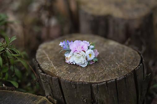 """Kvetinová gumička do vlasov """"prebudenie víly"""""""
