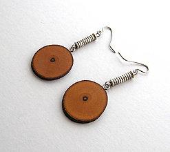 Náušnice - Vavrínové krúžky v3 - 6493067_