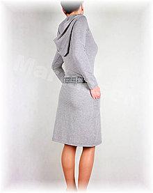 Šaty - Šaty volnočasové vz.300 více barev (Bordová) - 6498120_