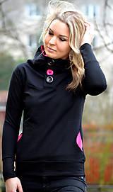 Mikiny - Černá mikina s kapucí - vyberte si svou barvu - 6499847_