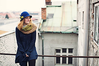 Čiapky - Dámsky klobúk kolekcia SOURIRE - 6496015_