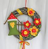 Venček na dvere - Lúka poľných kvetov (n.2)