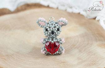 Kľúčenky - Lovely Mouse - 6499885_