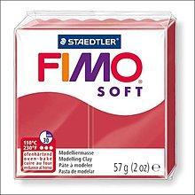 Modelovacie hmoty - (9331) FIMO soft, 26 tmavo červená - 57g - 6497639_
