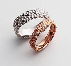 Prstene - Ručne vypracované snubné prstene Altais - 6498027_