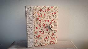 Papiernictvo - Vintage kalendár na 1 kalendárny rok podľa výberu a diár veľkosti A5 - 6499461_