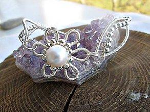 Náramky - jemná perla - 6497416_