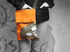 Kabelky - Originál malovaná taška - 6499615_
