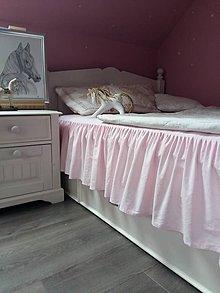 Úžitkový textil - Napínacia plachta s volánom - 6498340_