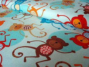 Textil - Jungle Creatures Monkey - 6502600_