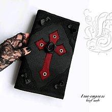Papiernictvo - Gotický obal na knihu III. - 6500314_