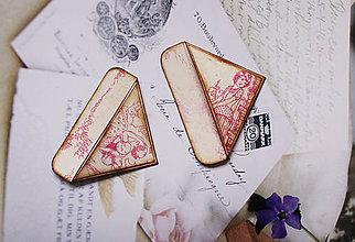 Papiernictvo - Francúzske záložky PRETTY IN PINK - 6500430_