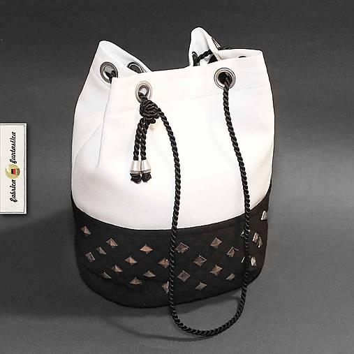 e68736484e Radiant Kabelky - Čierna   Biela štýlová dámska kabelka na plece ...