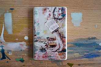 Magnetky - Magnetka, Som nepopísaná kniha - 6501987_