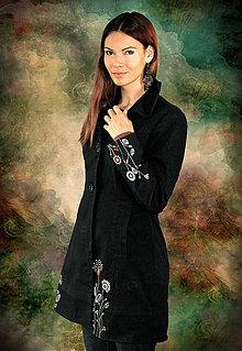 Kabáty - Maľba na želanie - Recyklácia - 6500542_