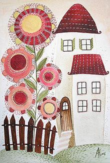 Kresby - Pod zázračnou kvetinou - 6500196_
