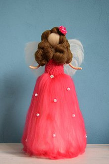 Dekorácie - Princezná anjelik - 6504268_