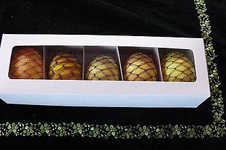 Obalový materiál - Darčeková krabička na 5 kraslíc - 6505576_