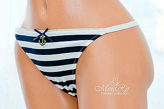 Bielizeň/Plavky - Dámske nohavičky tango string - 6504323_