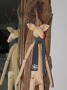 Dekorácie - Rudolf the red nosed reindeer II. - 6505914_