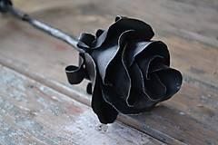 Dekorácie - Kovaná ruža - 6507931_