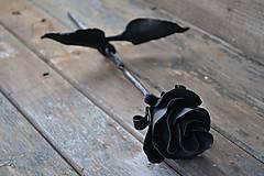 Dekorácie - Kovaná ruža - 6507933_