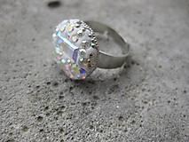 Prstene - Prsteň s kamienkami Preciosa č.1507 - 6506517_