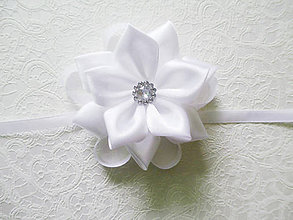 Pierka - svadobný náramok pre družičku veľký - 6503960_