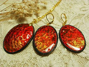Sady šperkov - náušnice s príveskom...2 - 6507122_