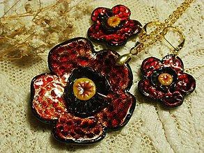 Sady šperkov - náušničky s príveskom... - 6507245_