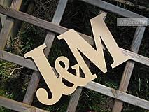 Dekorácie - iniciály - 6510414_