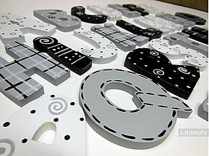 Magnetky - kompletná abeceda s magnetom - 6508564_