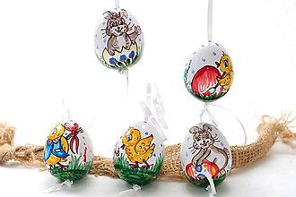 Dekorácie - Veľkonočné keramické vajcia - 6510024_