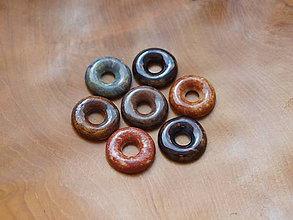 Materiál ručne robený - Keramický donut - 6509911_