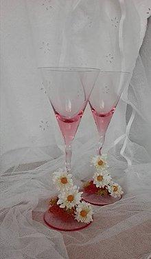Nádoby - Svadobné poháre- romantické:-) - 6511790_