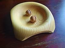 Nádoby - Jaseňová miska v modernom dizajne - 6511592_