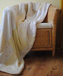 Úžitkový textil - Mäkkučká provensálska krémová - 6511054_