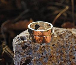 Prstene - tepané obrúčky - 6513555_
