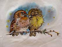 Detské oblečenie - Vtáčiky - 6517910_
