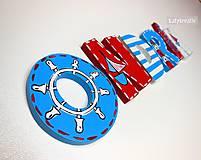 Tabuľky - Ondrík...námornícke písmenká - 6517717_