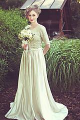 Šaty - Svadobné šaty na mieru_Viktória - 6517304_