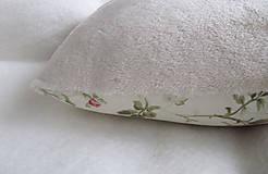 Úžitkový textil - ruže v srdci... - 6514916_