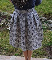Sukne - retro sukňa - 6515102_