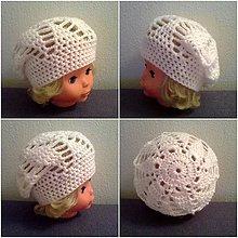 Detské čiapky - Baretka - 6521608_